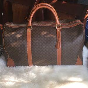 Celine Boston Classic Vintage travel bag